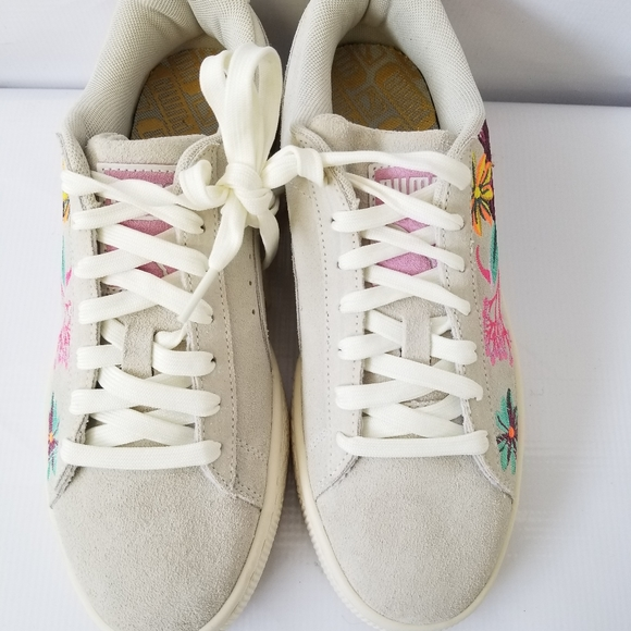 Suede Hyper Embellished Sneakers Wns 75